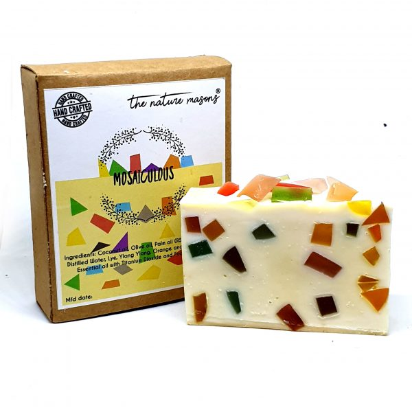 Mosaiculous Artisanal Cold Processed Soap White